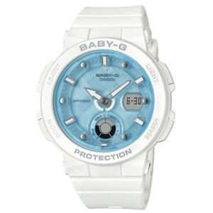 CASIO(カシオ) Baby-G/Beach Traveler Series(ビーチ・トラベラー・シリーズ) ホワイト BGA-250-7A1JF(取寄せ/代引不可)|ajewelry
