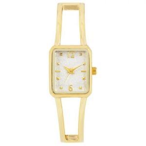 サンフレイム J-AXIS レディースウォッチ 腕時計/スクエアバングルウォッチ /ゴールド BL1214-G(取) ajewelry