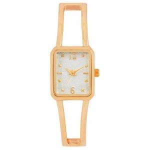 サンフレイム J-AXIS レディースウォッチ 腕時計/スクエアバングルウォッチ /ピンクゴールド BL1214-PG(取) ajewelry