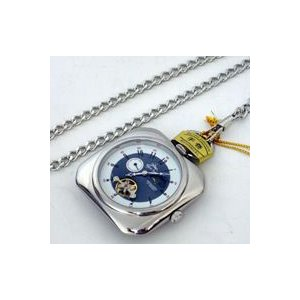 即納/ [Royal Polo]機械式(手巻き)懐中時計 C7453P-SBL(代引不可)|ajewelry