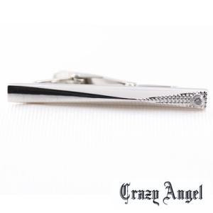 Crazy Angel(クレイジーエンジェル)/タイバー ネクタイピン キュービック サイドカットタイプ 真鍮 CAT-001(取寄せ/代引不可)|ajewelry