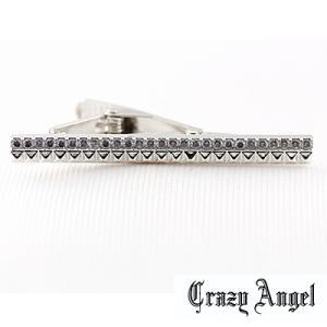 Crazy Angel(クレイジーエンジェル)/タイバー ネクタイピン キュービック フルカットタイプ 真鍮 CAT-002(取寄せ/代引不可)|ajewelry