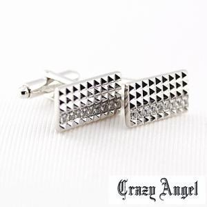 Crazy Angel(クレイジーエンジェル)/カフス フルカットタイプ キュービック 真鍮 CAT-101(取寄せ/代引不可)|ajewelry