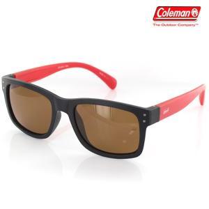 Coleman(コールマン) 偏光サングラス フローティンググラス/ブラックマット&レッドマット×ブラウン CFL02-1/220036(取)パール|ajewelry