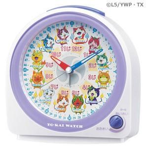 SEIKO セイコー/妖怪ウォッチ 目覚まし時計 ニャンシリーズ CQ145W (代引不可)|ajewelry
