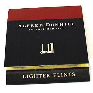 即納/dunhill(ダンヒル)/ライター フリント 赤色 Bフリント(難あり)(代引不可) ajewelry