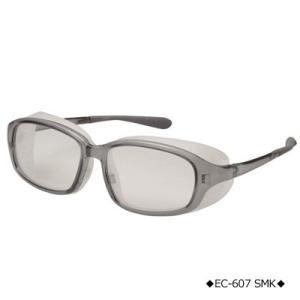 花粉グラス メガネ/EYES CURE アイキュアセット クリスタルスモーク EC-607-SMK/21595(取寄せ/代引不可)|ajewelry