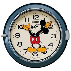 SEIKO(セイコー) /大人ディズニー レトロ ミッキー 掛時計  ネイビー FS504L(取寄せ/代引不可)|ajewelry