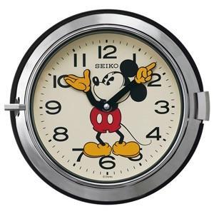 SEIKO(セイコー) /大人ディズニー レトロ ミッキー 掛時計  シルバー FS504S(取寄せ/代引不可)|ajewelry