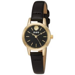 フィールドワーク 腕時計 ウォッチ/ローザ バラモチーフ ブラック FSC143-4 BK(取寄せ/代引不可)|ajewelry