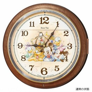 SEIKO(セイコー) ディズニータイム 電波掛時計 からくり時計/ミッキー&ミニー メロディ付 FW587B(取寄せ/代引不可)|ajewelry