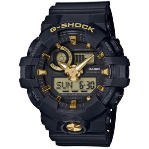 CASIO(カシオ) G-SHOCK/BLACK&GOLD(ブラック&ゴールド) ゴールド GA-710B-1A9JF(取寄せ/代引不可)|ajewelry