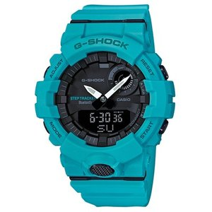 CASIO(カシオ) G-SHOCK/G-SQUAD(ジー・スクワッド) モバイルリンク機能 Bluetooth ライトブルー GBA-800-2A2JF(取寄せ/代引不可)|ajewelry