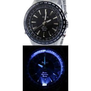 ELGIN(エルジン) メンズウォッチ 衛星電波時計/エルジンGPSハイパー GPS2000S-B(取寄せ/代引不可)|ajewelry|02