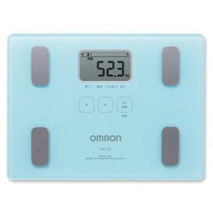OMRON オムロン 体重体組成計 体重計/カラダスキャン ブルー HBF-212-B(取寄せ/代引不可)|ajewelry