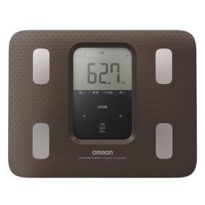 OMRON オムロン 体重体組成計 体重計/カラダスキャン ブラウン HBF-220-BW(取寄せ/代引不可)|ajewelry