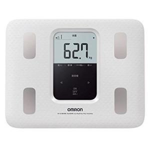 OMRON オムロン 体重体組成計 体重計/カラダスキャン ホワイト HBF-220-W(取寄せ/代引不可)|ajewelry