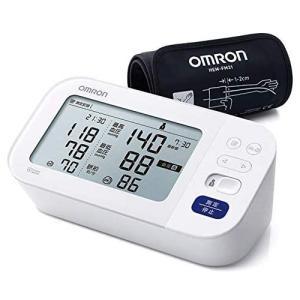 OMRON(オムロン) 上腕式血圧計 プレミアム19シリーズ 比較画面表示 フィットカフ/HCR-7402(取)タスク ajewelry