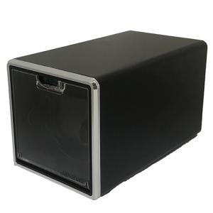CHRONO NEST(クロノネスト)/ウォッチワインダー シングルワインダー ワインディングマシーン/メタルブラック HW13-01PB(取) ajewelry