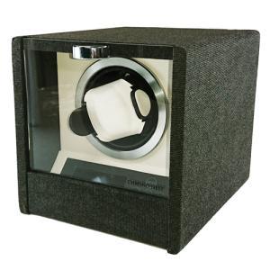 CHRONO NEST(クロノネスト)/デニム ウォッチワインダー シングルワインダー ワインディングマシーン/HW17009(取) ajewelry