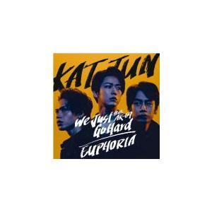 初回限定盤1 DVD付 12P歌詞ブックレット封入 KAT-TUN CD+DVD/We Just Go Hard feat. AK-69 / EUPHORIA 21/9/8発売 オリコン加盟店|ajewelry