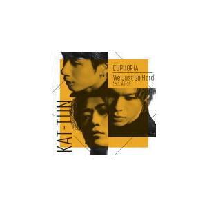初回限定盤2 DVD付 12P歌詞ブックレット封入 KAT-TUN CD+DVD/EUPHORIA / We Just Go Hard feat. AK-69 21/9/8発売 オリコン加盟店|ajewelry