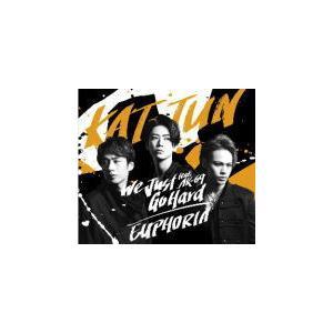 通常盤 3面6P歌詞カード封入 KAT-TUN CD/We Just Go Hard feat. AK-69 / EUPHORIA 21/9/8発売|ajewelry