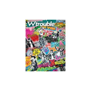 即納!●初回盤Blu-ray スペシャルフォトブックパッケージ 48Pフォトブック ジャニーズWEST 2Blu-ray/ジャニーズ WEST LIVE TOUR 2020 W trouble 21/10/6発売|ajewelry