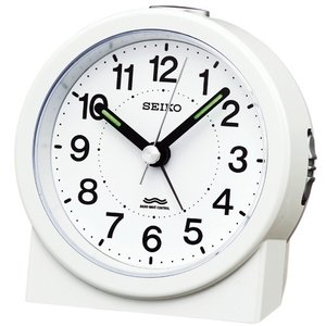 SEIKO セイコー 電波目覚まし時計/白パール色 KR325W(取寄せ/代引不可)|ajewelry