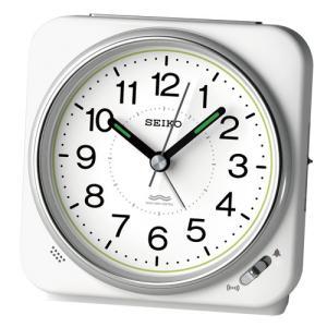SEIKO セイコー 電波目覚まし時計/白パール色 KR326W(取寄せ/代引不可)|ajewelry
