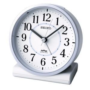 SEIKO セイコー 電波目覚まし時計/薄青パール色 KR328L(取寄せ/代引不可)|ajewelry