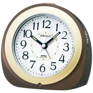 SEIKO セイコー 電波目覚まし時計/自動点灯タイプ 茶メタリック KR331B(取寄せ/代引不可)|ajewelry