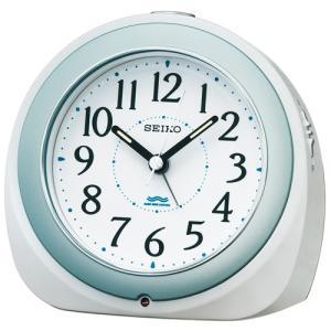 SEIKO セイコー 電波目覚まし時計/自動点灯タイプ 白パール色 KR331W(取寄せ/代引不可)|ajewelry