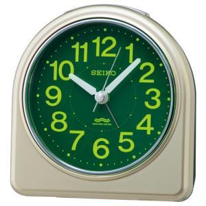 SEIKO セイコー 電波目覚まし時計/集光樹脂文字板 薄金色パール色 KR332G(取寄せ/代引不可)|ajewelry