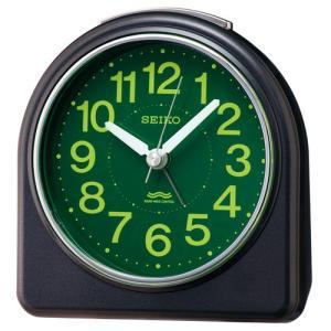 SEIKO セイコー 電波目覚まし時計/集光樹脂文字板 黒メタリック色 KR332K(取寄せ/代引不可)|ajewelry