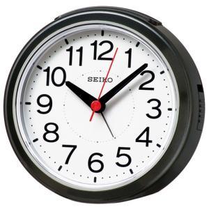 SEIKO セイコー 電波目覚まし時計/黒メタリック色 KR334K(取寄せ/代引不可)|ajewelry