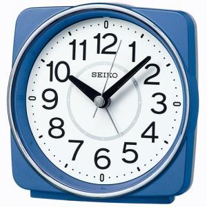 SEIKO セイコー 電波目覚まし時計/青メタリック色 KR335L(取寄せ/代引不可)|ajewelry