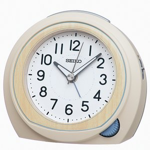 SEIKO(セイコー) クオーツ 目覚まし時計/アイボリー KR517C(取)|ajewelry