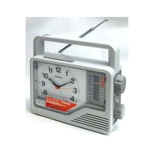 ◆防災クロック【防災対応多機能 目ざまし時計】SEIKO KR870N (代引不可)|ajewelry