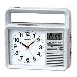 防災クロック/防災対応多機能 目ざまし時計 SEIKO KR885N (代引不可)|ajewelry