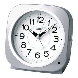 SEIKO セイコー 目覚まし時計/自動点灯タイプ 銀色メタリック KR889S(取寄せ/代引不可)|ajewelry