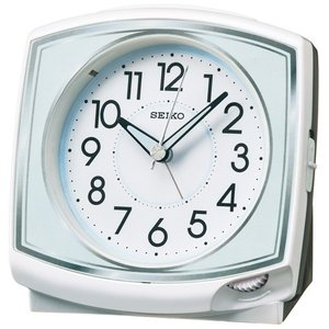 SEIKO セイコー 目覚まし時計/白パール色 KR891W(取寄せ/代引不可)|ajewelry