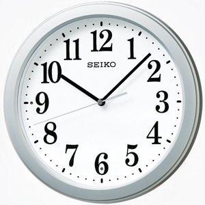セイコー SEIKO/電波掛け時計 小ぶりでも見やすい KX379S(取寄せ/代引不可) ajewelry