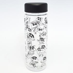 SP/クレヨンしんちゃん ランチ クリアボトル 常温ボトル 水筒 500ml/いろいろしんちゃん KYLC2658(取/ギフト不可)|ajewelry