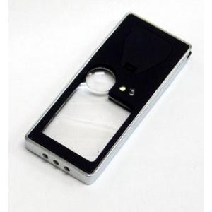 [LEDライト付き携帯タイプルーペ x2.6 x9] LOUPE07943(代引不可)|ajewelry