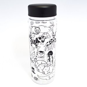 SP/ミッフィー ディックブルーナ ランチ クリアボトル 常温ボトル 水筒 500ml/アニマル MFLC578(取/ギフト不可)|ajewelry