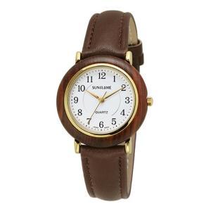 サンフレイム メンズウォッチ 日本製腕時計/天然木 ウッドケースウォッチ アラビア数字 MJG-X19-WA(取寄せ/代引不可)|ajewelry