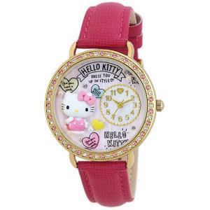 サンリオウォッチ 日本製腕時計/ハローキティ(HelloKitty) デコウォッチ MJSR-M13(取寄せ/代引不可)サンフレイム ajewelry