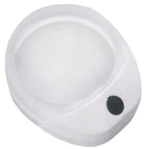 Magnifiers(マグニファイアーズ)/拡大鏡 LEDライト付き ドーム型ルーペ/倍率10倍 MZMD1/071135(取)パール|ajewelry