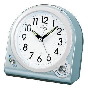 SEIKO セイコー 目覚まし時計/PYXIS ピクシス 青メタリック色 NQ705L(取寄せ/代引不可)|ajewelry